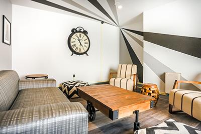 Residenz Standard Wohnzimmer Sprachaufenthalt San Diego