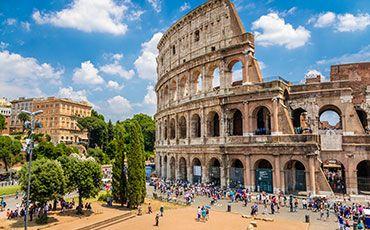Teaser Freizeitprogramm Sprachurlaub mit Kultur und Geschichte Kolosseum in Rom