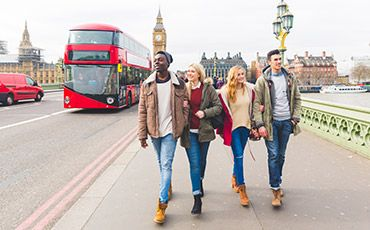 Teaser Sprachreise mit Freunden in London
