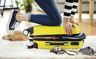 Sprachaufenthalt Koffer packen Packliste