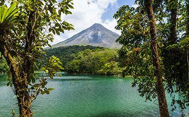 Teaser Freizeitprogramm Sprachurlaub mit Natur Costa Rica Vulkan