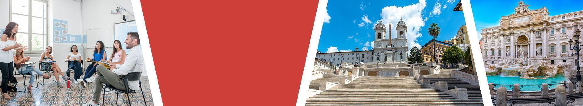 Sprachreise nach Rom für Erwachsene in Italien Slider