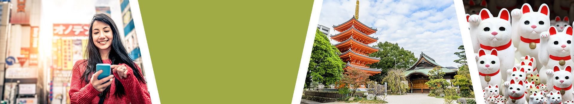 Japanisch Sprachreisen für Erwachsene nach Japan Slider