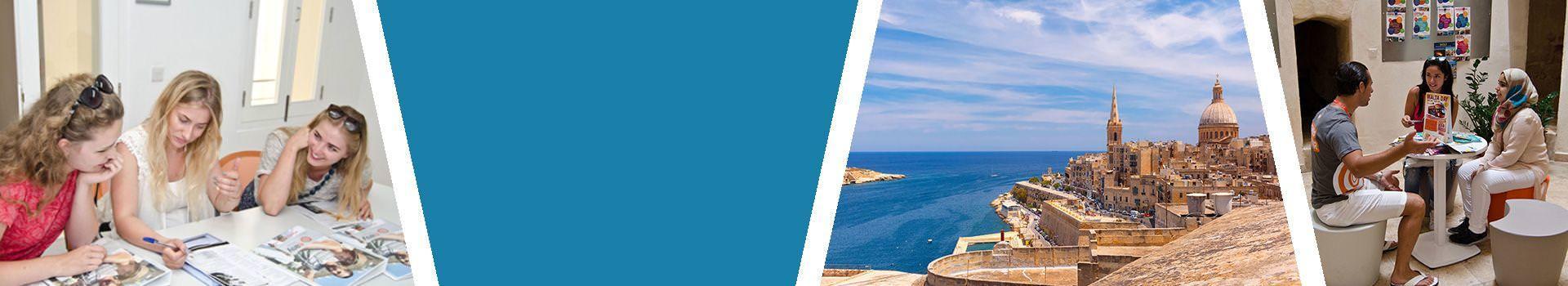 Sprachreise nach Valletta für Erwachsene auf Malta Slider