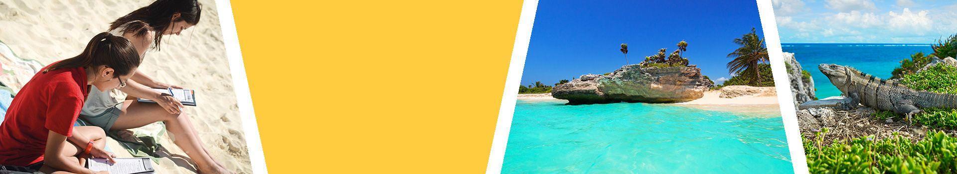 Sprachreise nach Playa del Carmen fuer Erwachsene in Mexiko Slider