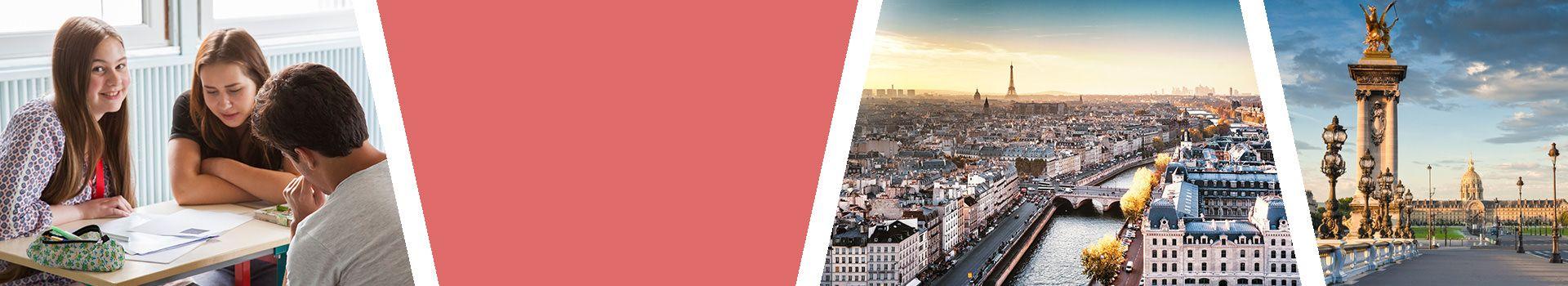 Sprachreise für Schüler nach Paris in Frankreich Slider