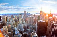 Sprachreise nach New York Blick auf Manhattan vom Top of the Rock