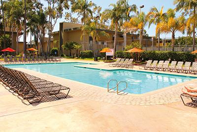 Sprachaufenthalt San Diego Beach in den USA - Wohngemeinschaft Premium