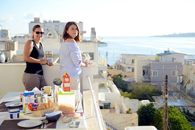 Sprachaufenthalt St. Paul's Bay auf Malta - Residenz mit Blick aufs Meer