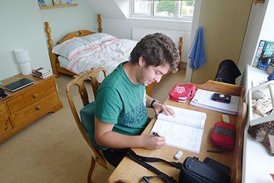 Sprachaufenthalt Torbay in England Privatunterkunft Einzelzimmer