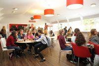Cafe der Sprachschule in Torbay