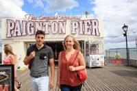 Sprachreise nach Torbay in England - Ausflug zum Paignton Pier
