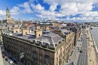 Sprachaufenthalt in Newcastle England - Blick auf die Stadt