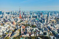 Sprachreise nach Tokyo für Erwachsen in Japan - Blick auf die Stadt
