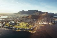 Sprachreise nach Kapstadt in Südafrika - Blick auf die Hafenstadt