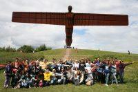 Sprachreise nach Newcastle Freizeitprogramm Ausflug zum Angel of North