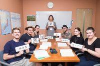 Sprachschule in Fukuoka fuer Erwachsene in Japan - Gruppenunterricht