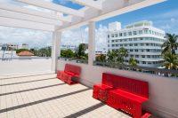 Sprachschule Miami Dachterasse