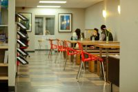 Sprachschule in New York Studenten Lounge