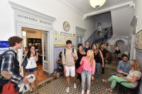 Sprachschule in Rom - Eingangsbereich