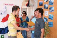 Sprachschule in Santo Domingo de Heredia für Erwachsene in Costa Rica - Zertifikatsuebergabe