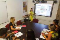 Sprachschule in St. Pauls Bay - Klassenzimmer mit interaktiven Whiteboards
