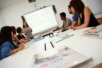 Sprachschule in Valletta - Klassenzimmer mit interaktiven Whiteboards