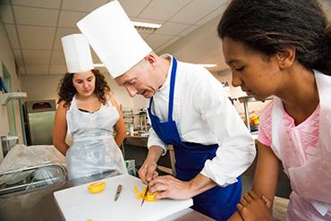 Sprachferien Biarritz Frankreich Premium Freizeitaktivität Kochen