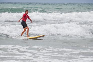 Sprachferien Biarritz Frankreich Premium Freizeitaktivität Wassersport Plus