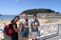 Sprachreise für Schüker nach Biarritz in Frankreich - Ausflug zum Strand