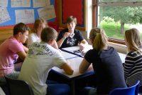Sprachschüler in Tavistock Englisch lernen im Gruppenunterricht