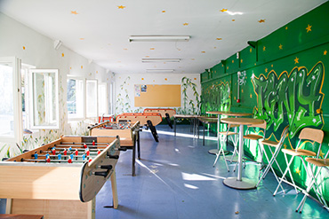 Sprachschule für Schüler in Paris - Freizeitraum