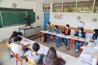 Sprachreisen für Schüler nach Paris Igny in Frankreich - Klassenzimmer