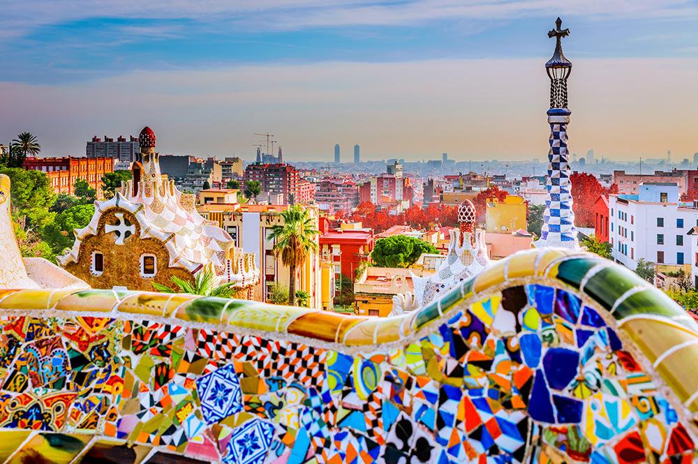 Schülersprachreisen Barcelona Camp Park Güell