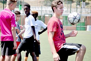 SprachePlus Fußball Sprachferien Spanien